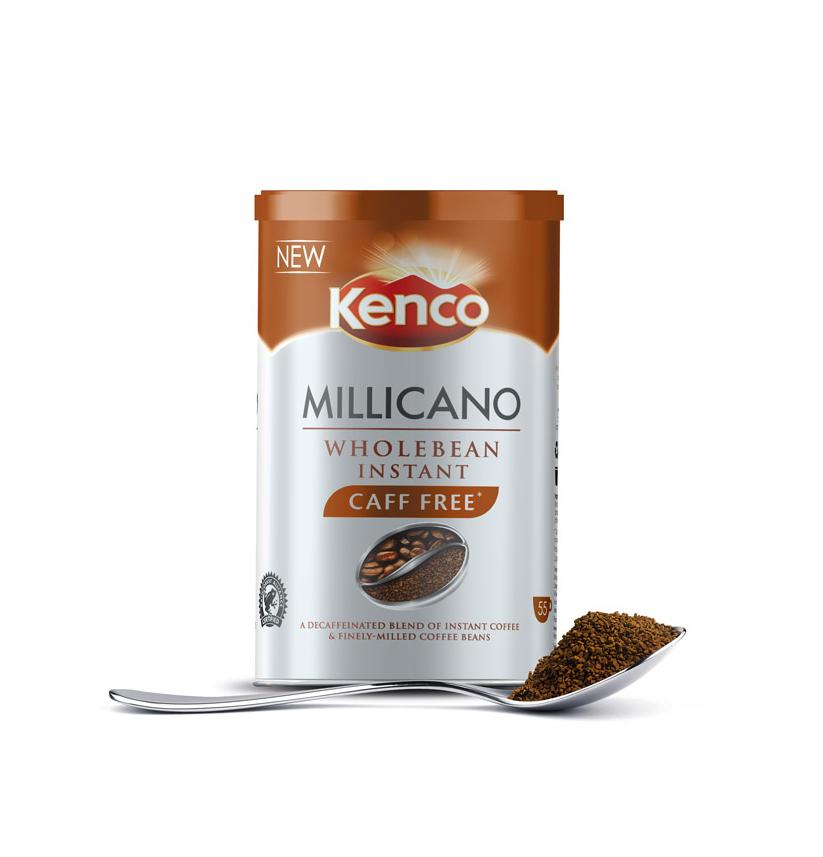 Kenco Millicano Wholebean Instant Caffeine Free