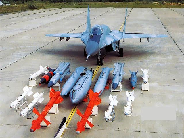 Resultado de la imagen para MiG-29 + armas