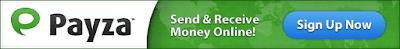 Payza lowest fee send and reieve money