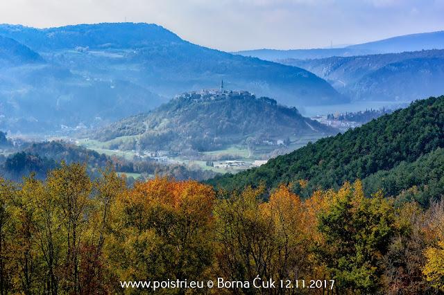Putopisi po Istri @ Selo Strana i Slap Sopot (penjalište Sopot) @ 12.11.2017