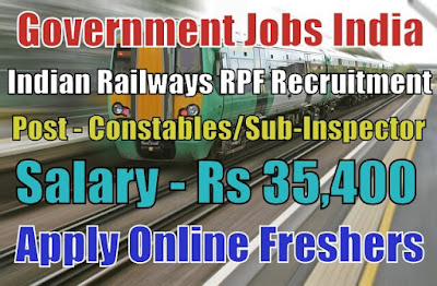 Indian Railways RPF Recruitment 2018