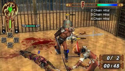 Download Gladiator Begins PSP/PPSSPP