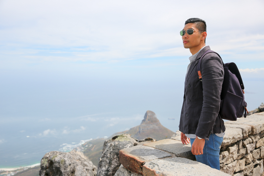 Levitate Style, Travel, Menswear, Cape Town, Table Mountain, What to Wear