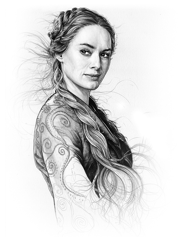 04-Lena-Headey-Cersei-Lannister-Corbyn-S-Kern-Game-of-Thrones-Star-Trek-and-Star-Wars-Character-Drawings-www-designstack-co