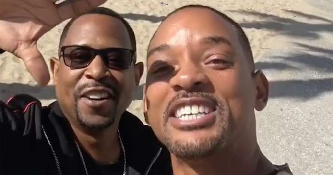 Will Smith and Martin Lawrence reunite to say 'Bad Boys 3 is happening'