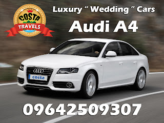 luxury wedding cars Audi A4