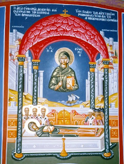 Το θαύμα της Αγίας Ευφημίας  και οι μονοφυσίτες 11 Ιουλίου