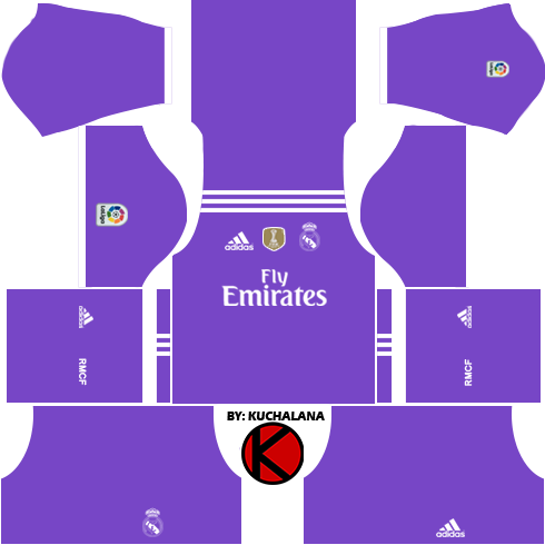 the best attitude 23465 988f9 Real Madrid Kits 2016/2017 - Dream League Soccer 2017 ...