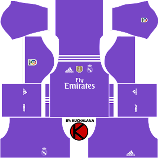 Dream League Soccer Real Madrid Kits 2016-2017