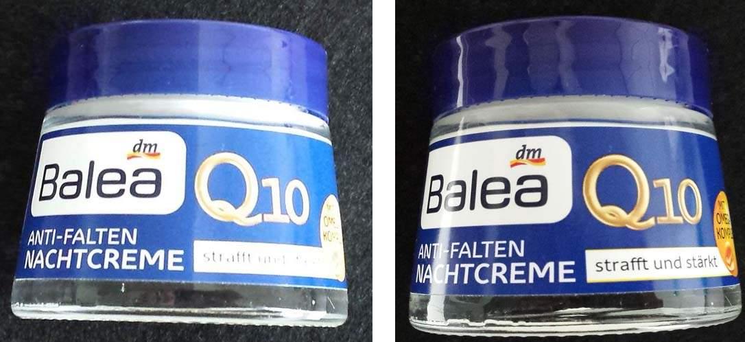 Beauty Gothic: Balea Q10 Anti-Falten Nachtcreme