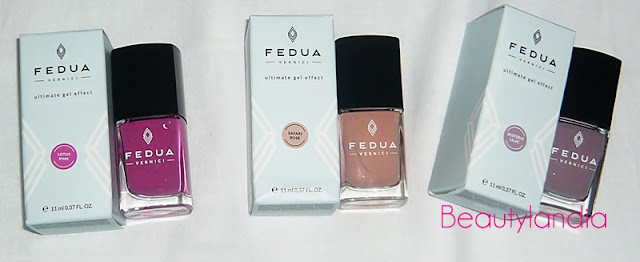 SMALTI EFFETTO GEL FEDUA COSMETICS