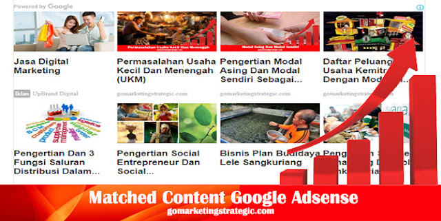 Mendapatkan dan Memasang Matched Content Google Adsense
