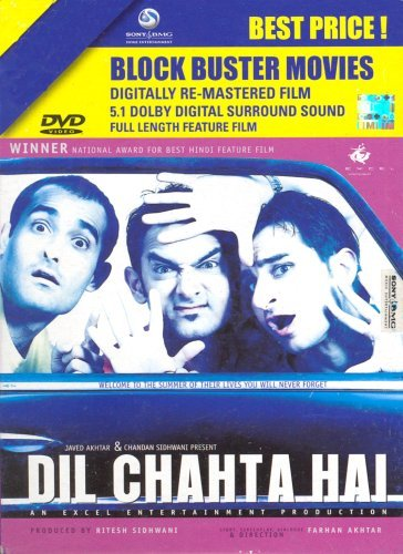 Poster of Dil Chahta Hai 2001 720p Hindi BRRip Full Movie Download