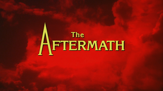 the aftermath title screen