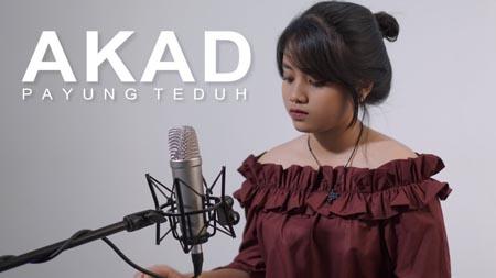 Lirik Lagu Akad - Hanin Dhiya (Cover)