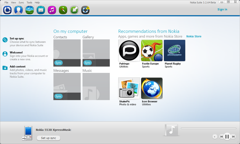 Download the New Nokia Suite 3.2 Beta ~ The World is Mine