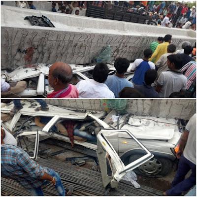 Bridge Collapse People Dead Varanasi UP