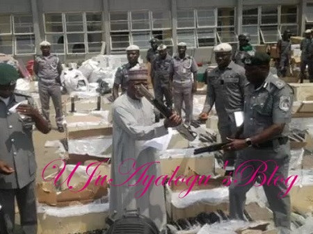 Container FULL Of Smuggled Pump Action Rifles Uncovered By Customs