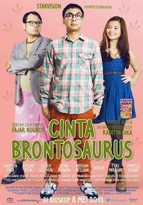 Poster Film Cinta Brontosaurus