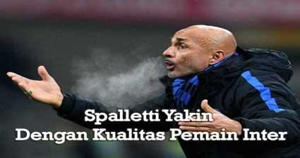 Spalletti Yakin Dengan Kualitas Pemain Inter