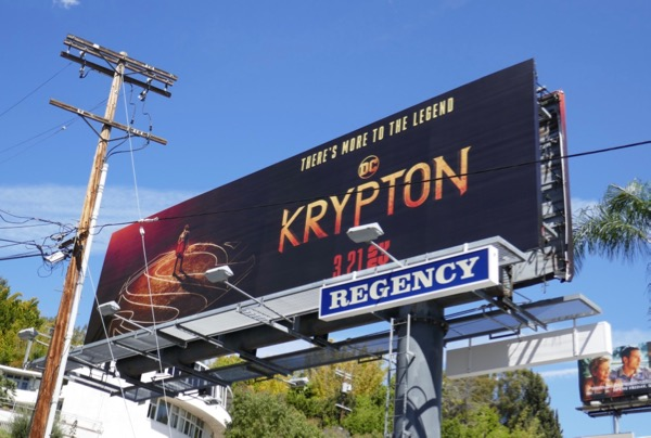DC krypton series billboard