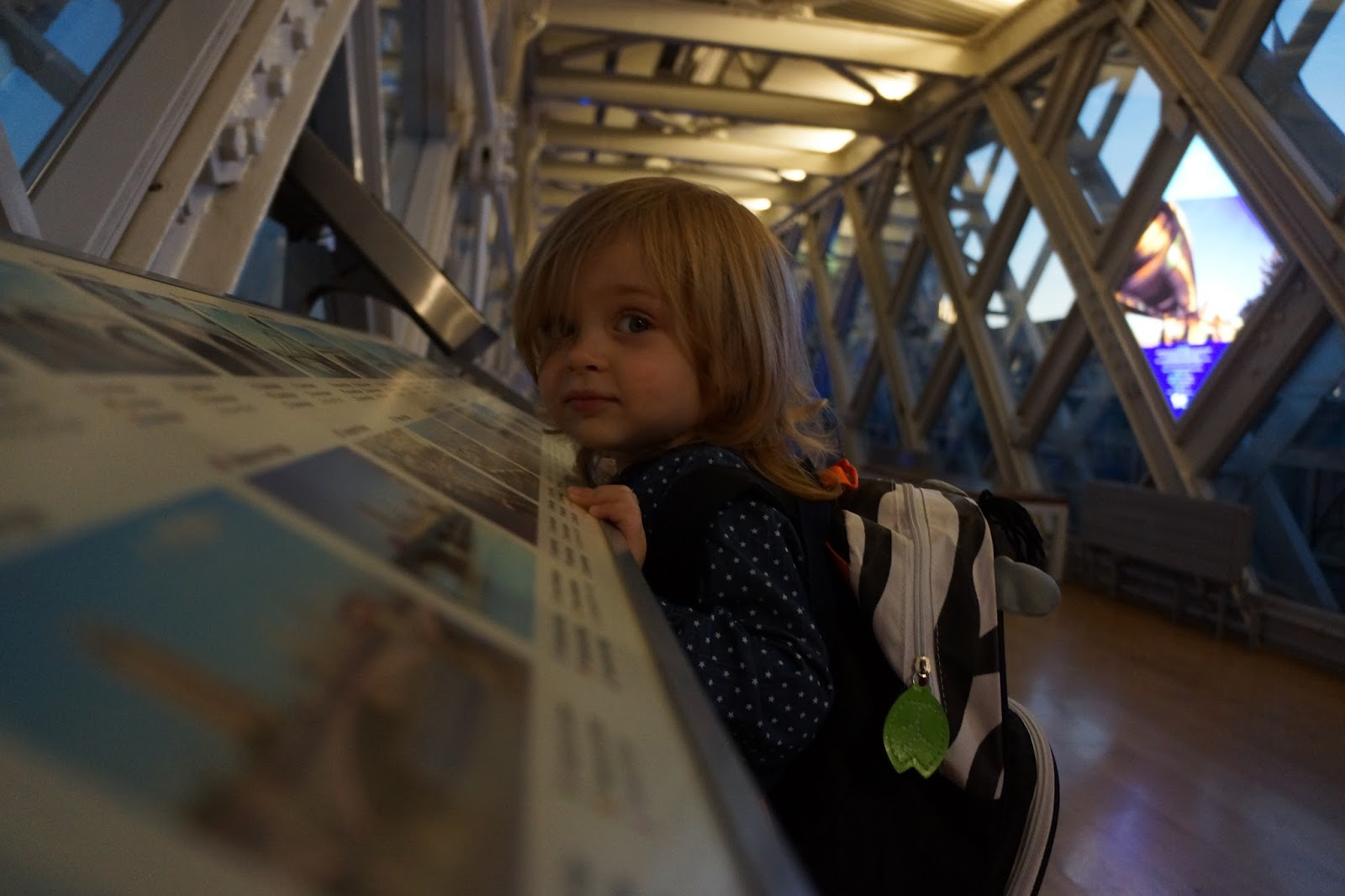 tower bridge walkway toddler