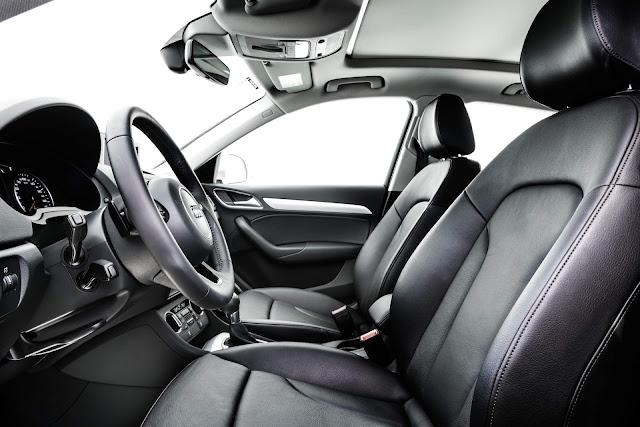 Audi Q3 Flex 2017 - interior - espaço interno