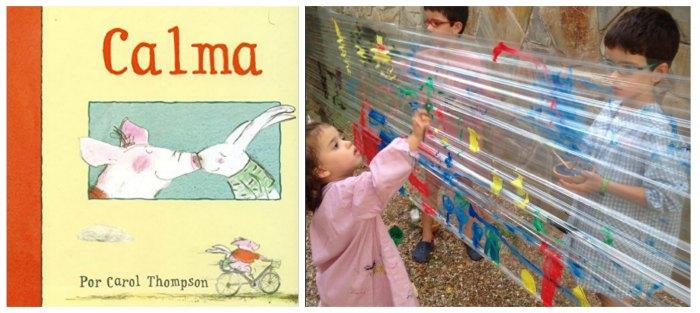 cuentos infantiles imprescindibles manualidades pintar film transparente cuento calma