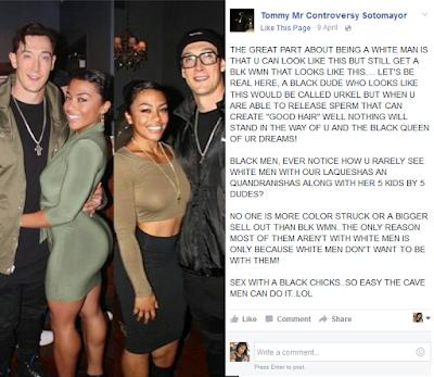 White men dating black women facebook