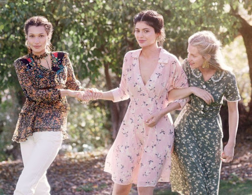 Kylie Jenner, Bella Hadid, Lottie Moss – Vogue December 2015 photo shoot