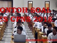Contoh Soal Tes CPNS 2018 Lengkap