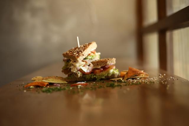 Lebanese Falafel Sandwich