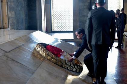 Ketika Makam Attaturk menjadi Pembeda Antara Jokowi dan SBY