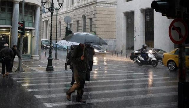 Που Θα «Χτυπήσει» Το Νέο Κύμα Κακοκαιρίας Έρχονται καταιγίδες και χιόνια στα ορεινά – Δείτε τις περιοχές που θα επηρεαστούν