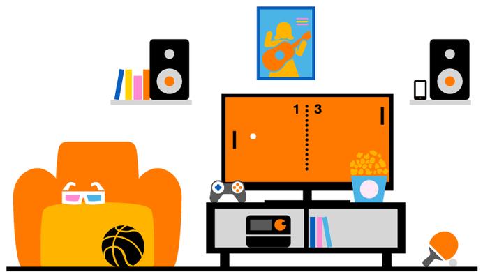 Orange paquetes televisión