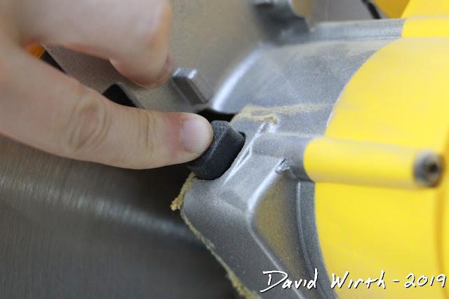 miter saw blade lock