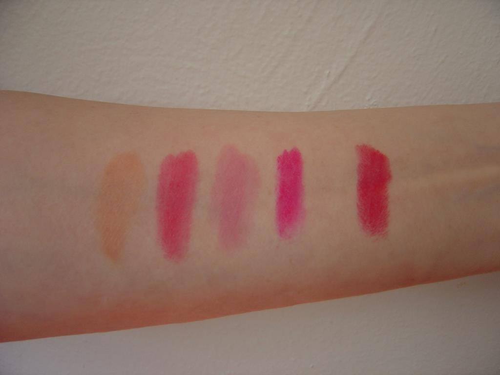 NYC New York Color Expert Last Matte lip color swatches