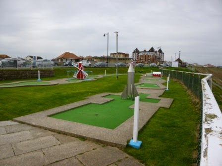 Arnold Palmer Mini Golf Course in Whitby