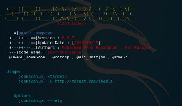 joomscan - Joomla Scanner Vulnerability