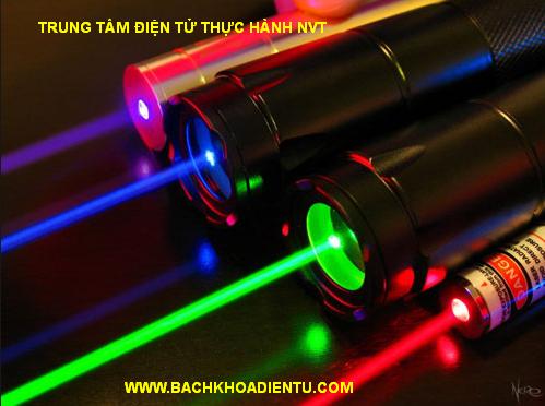 Các thiết bị phát laser