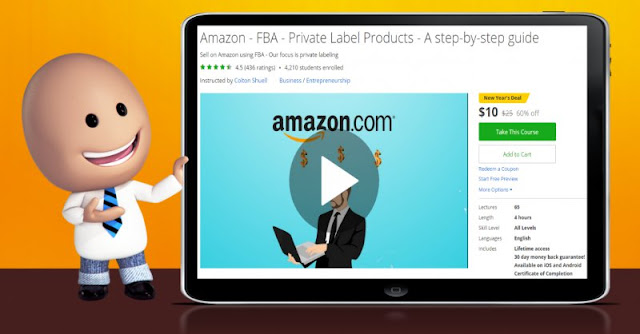 [60% Off] Amazon - FBA - Private Label Products - A step-by-step guide|Worth 25$