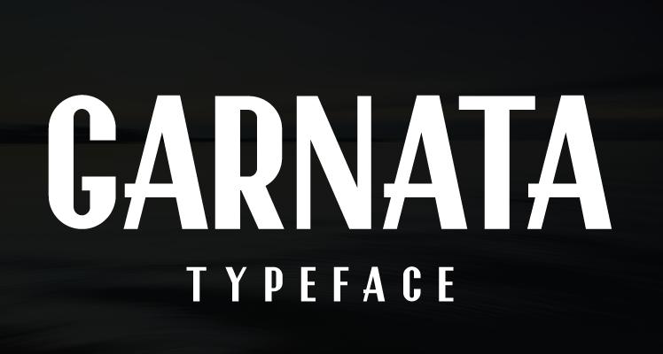 GARNATA font preview