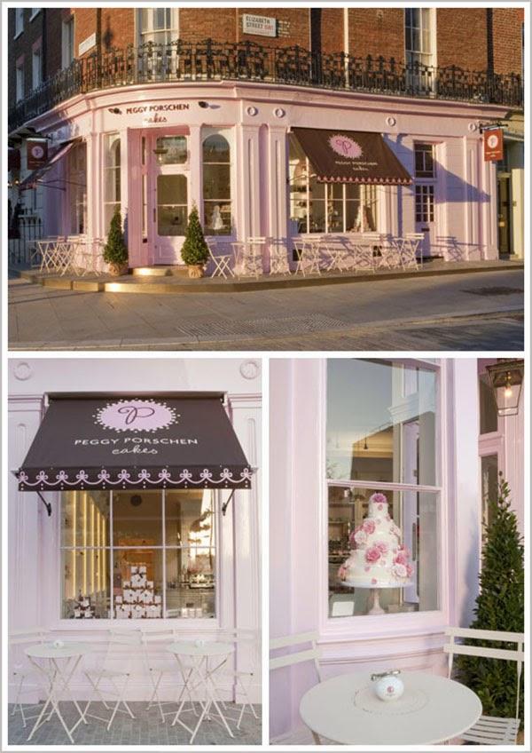 Peggy Porschen Cakes Shop Front