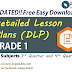 GRADE 1 DLP - Detailed Lesson Plans (UPDATED)