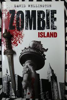 Portada del libro Zombie Island, de David Wellington