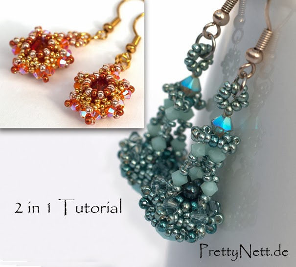 Beading Pattern - Tutorial Earrings Ahoi
