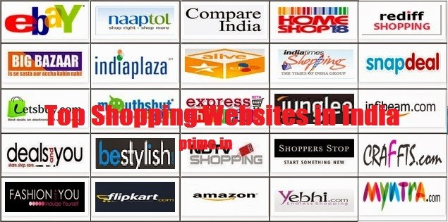 53a125a33fa Top Ten Online Shopping Sites -India - Blog tips online money