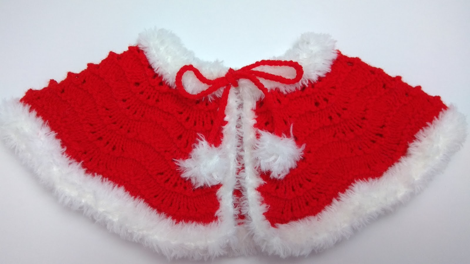 Christmas Baby Cape