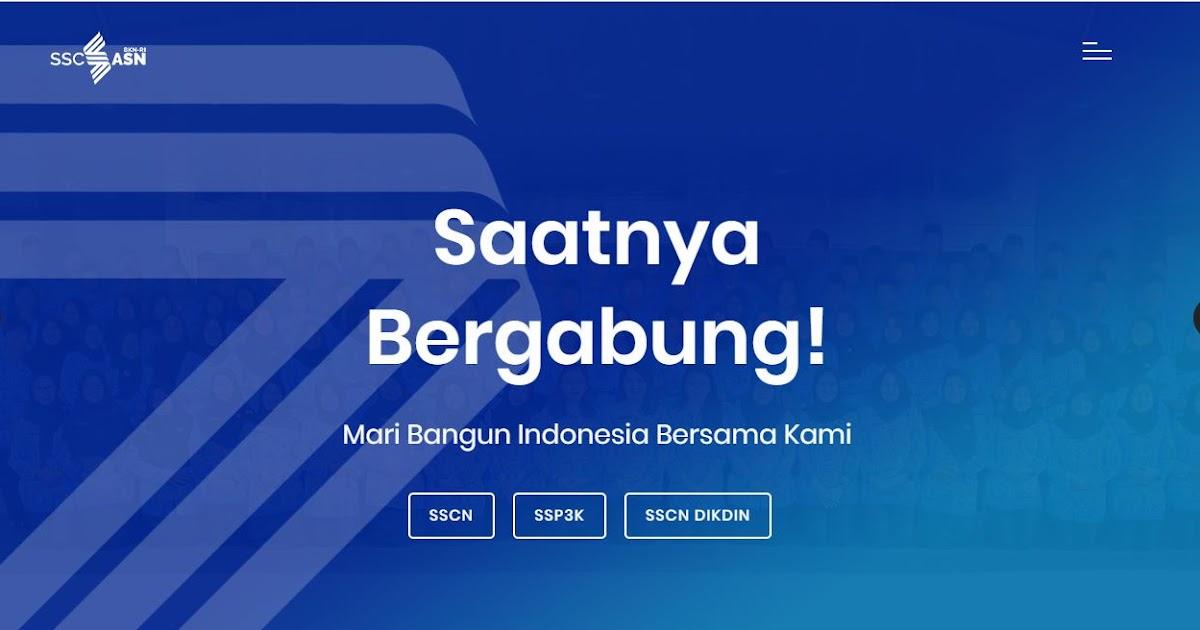 Formasi Pendaftaran Pppk: Info Seleksi CPNS Dan PPPK 2019