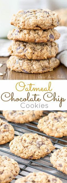 Oatmeal Chocolate Chíp Cookíes